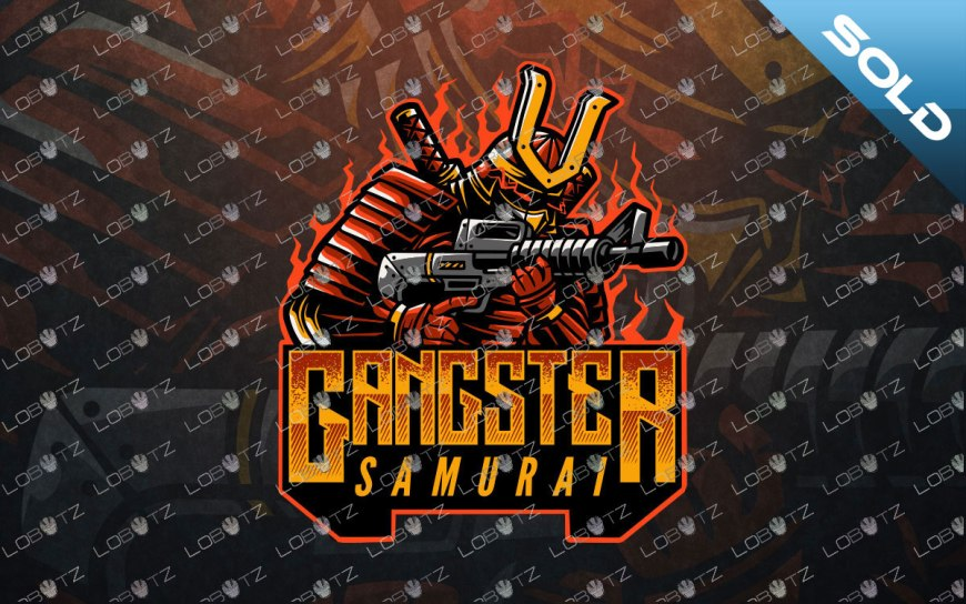 samurai mascot logo samurai esports logo esportssamurailogo