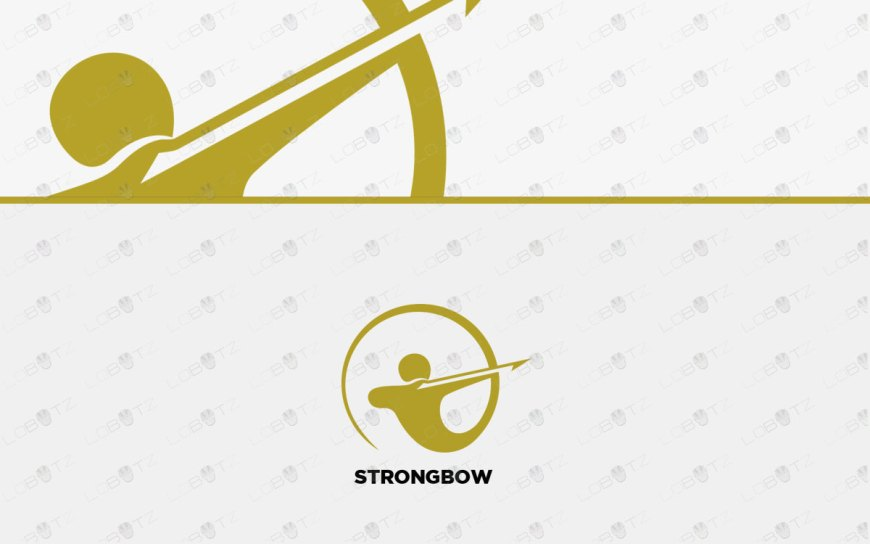 Archer Logo | Brand Logo | Strong Bow Logo For Sale