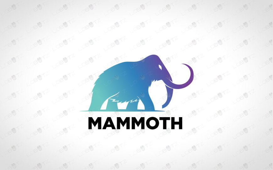 Mammoth Logo For Sale Premade Logos