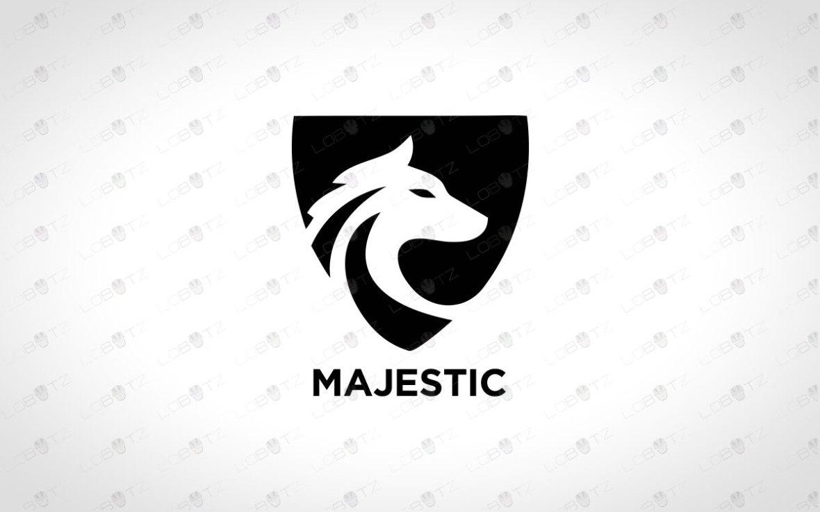 Premade Wolf Logo For Sale   Company Logos