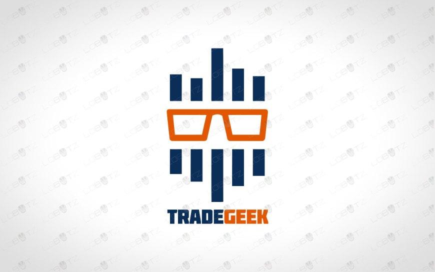 Trade Geek Logo For Sale | Trade Logo