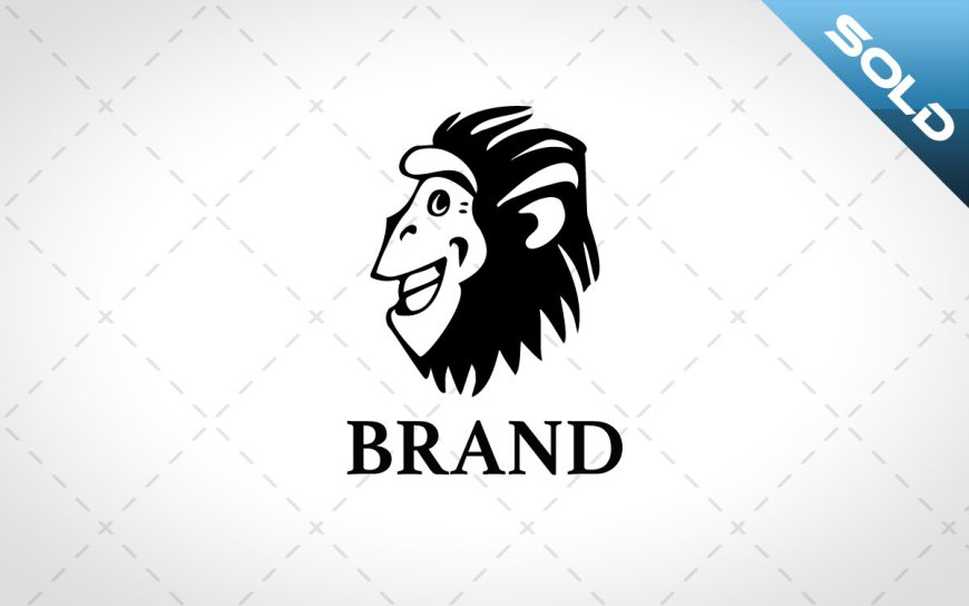 african monkey head logo for sale
