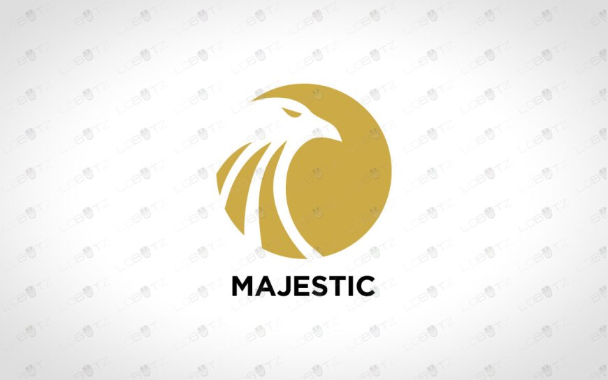 Majestic Eagle Logo | Eagle Head Logo For Sale