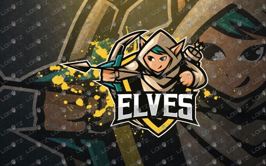 Elf Mascot Logo For Sale | Premade Elves Mascot Logo