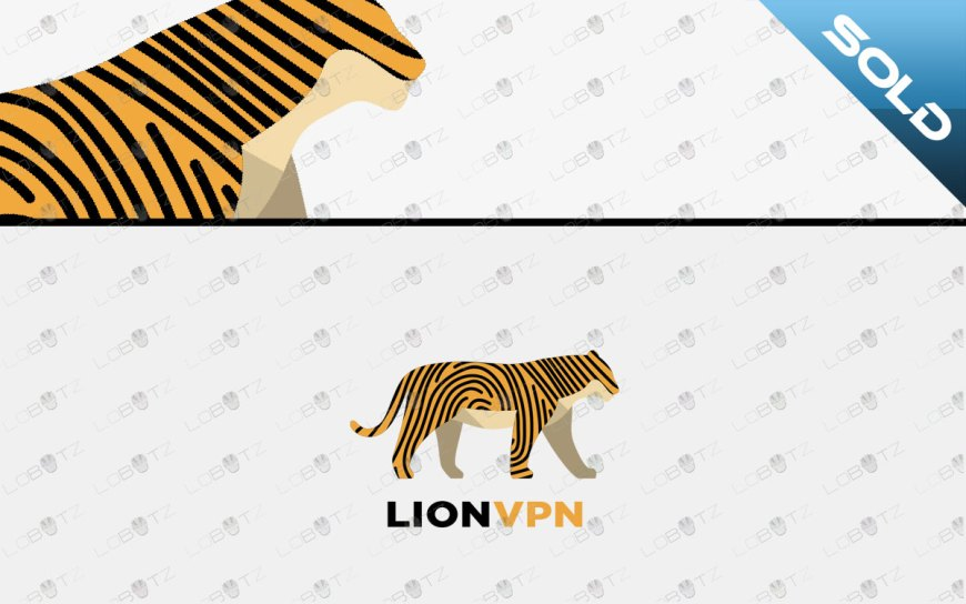 tiger logo for sale animal fingerprint