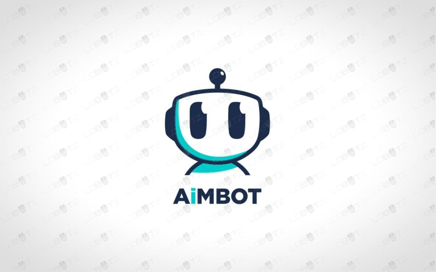 Modern Robot Head Logo For Sale Business Logo