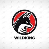 ReadyMade Wolf Logo For Sale   Premade Wolf Logo