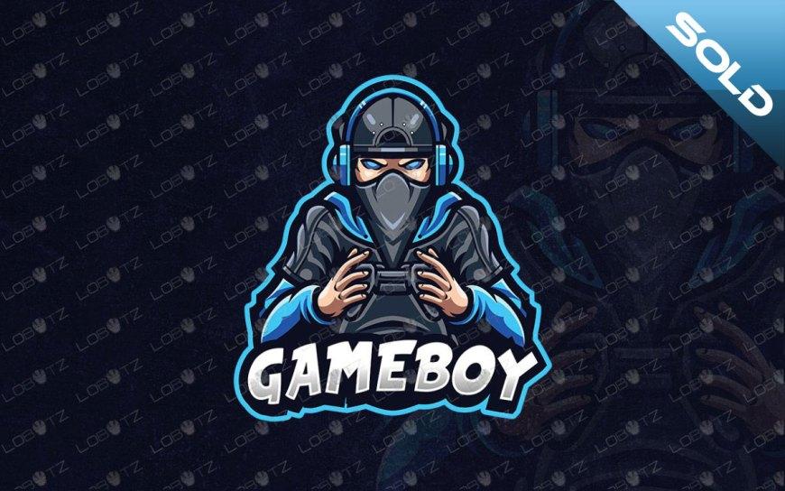 Premade Gamer Mascot Logo For Sale | Gaming Logo