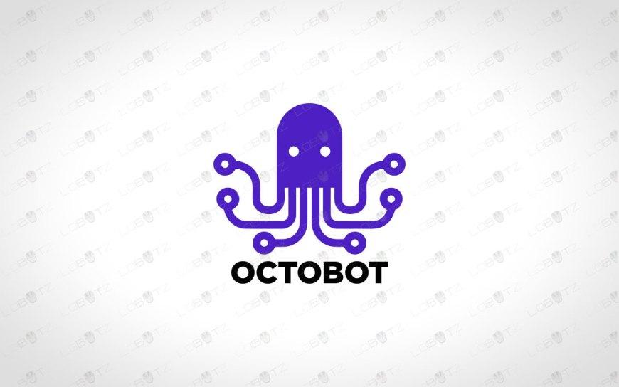Octopus Logo | Modern & Unique Octopus Logo For Sale