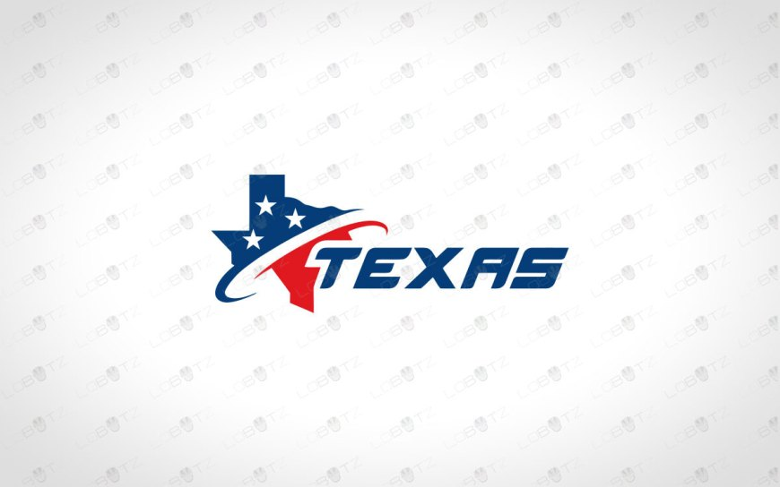 Premade Texas Logo For Sale | Texas Map Logo