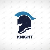 Modern Knight Logo For Sale   Strong Logos