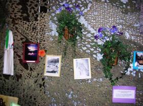 Nice memorabilia display