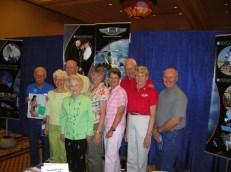 Group shot with Margie Stewart Johnson