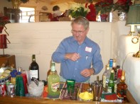 Our superb bartender - what's his name?
