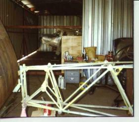 """Fuselage and tail-bones are """"sprung"""" out of alignment and must be replaced"""