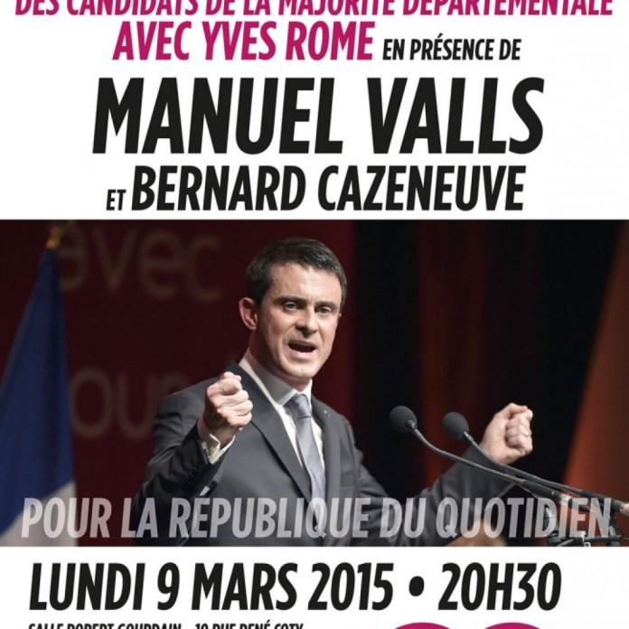 Manuel Valls viendra soutenir Yves Rome, lundi, à Bresles.