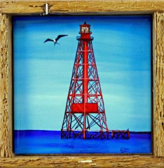 """Sombero Reef Lighthouse"""