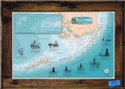 """Lighthouses Of The Forida Keys"" Small"