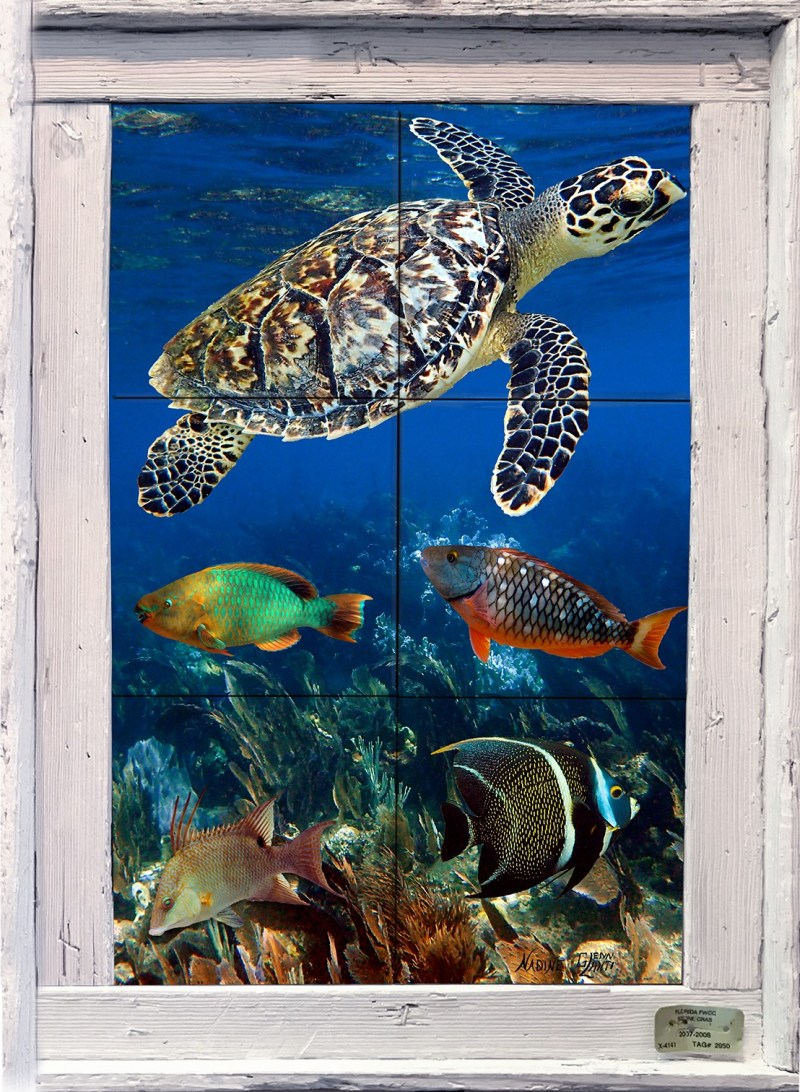 Reef Friends Tile Mural