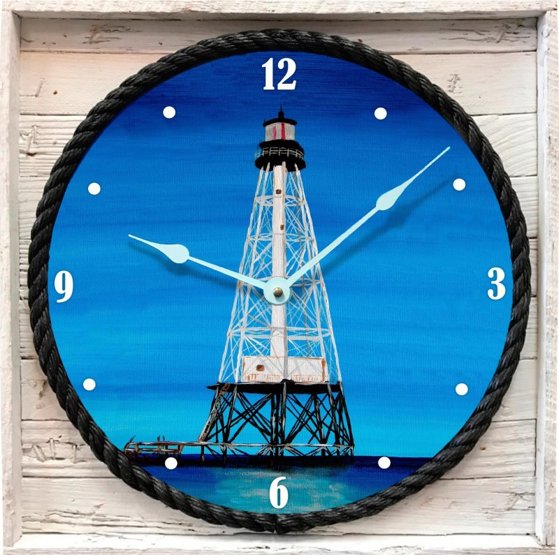 Alligator Reef Lighthouse Clock