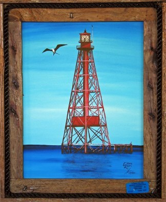 """Sombrero Reef Lighthouse"""