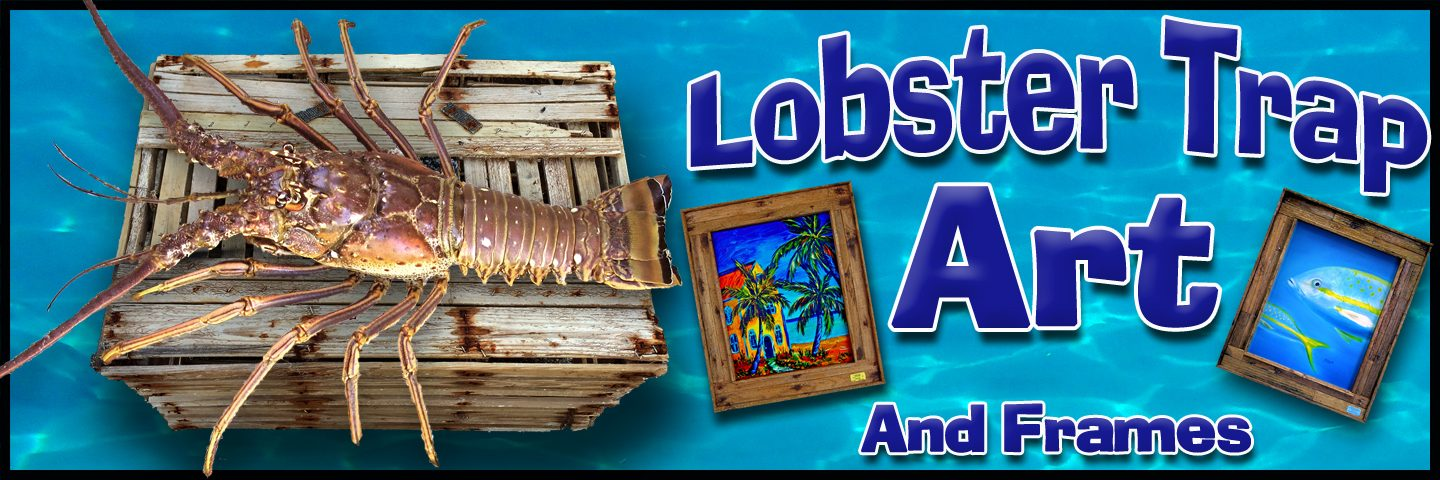 Lobster Trap Art