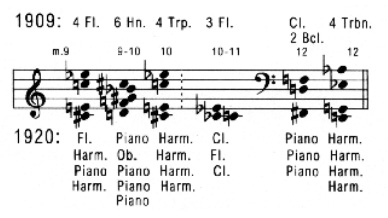 Anton Webern's Six Pieces for Orchestra, op. 6
