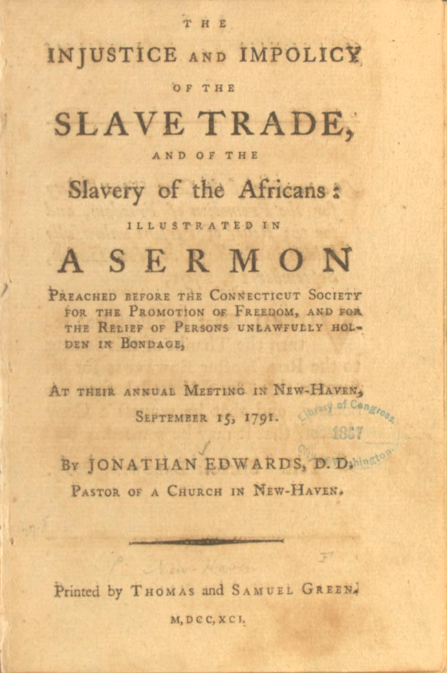 Abolition AntiSlavery Movements and the Rise of the