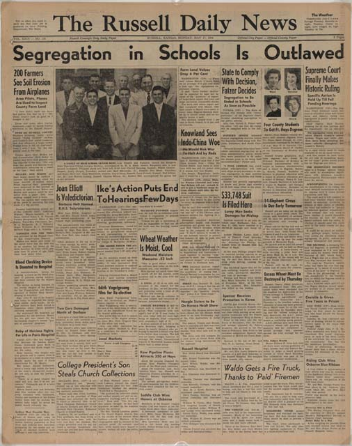 Board V Newspaper Brown Articles