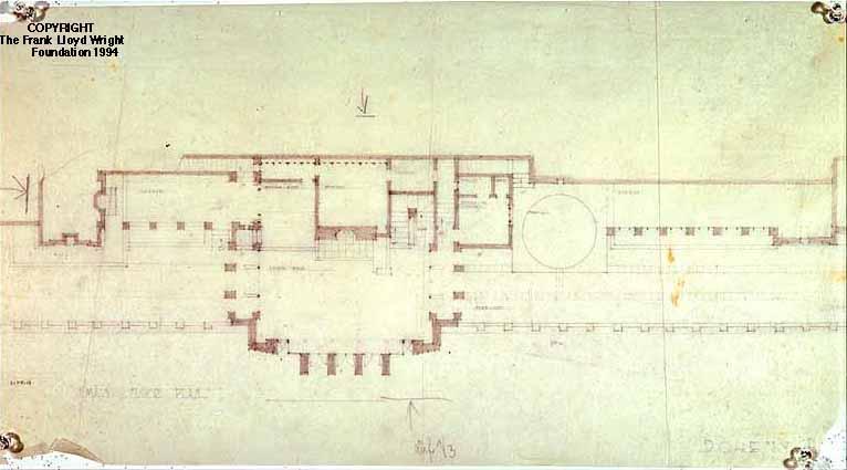 Doheny Ranch Development  Frank Lloyd Wright Designs for