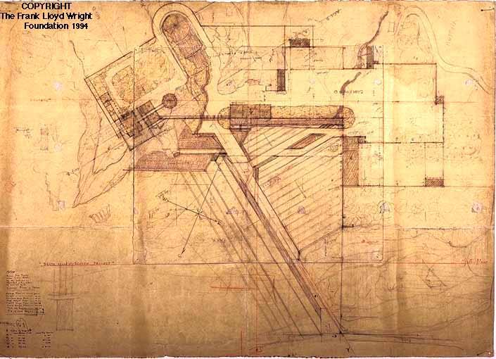 A M Johnson Desert Compound  Frank Lloyd Wright Designs for an American Landscape 19221932