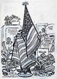 Herblocks Presidents  Herblocks History Political
