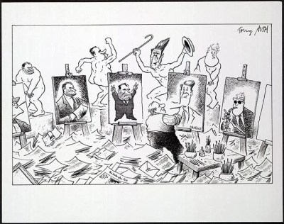 THE CARTOON by Herb Block - Herblock's History: Political ...