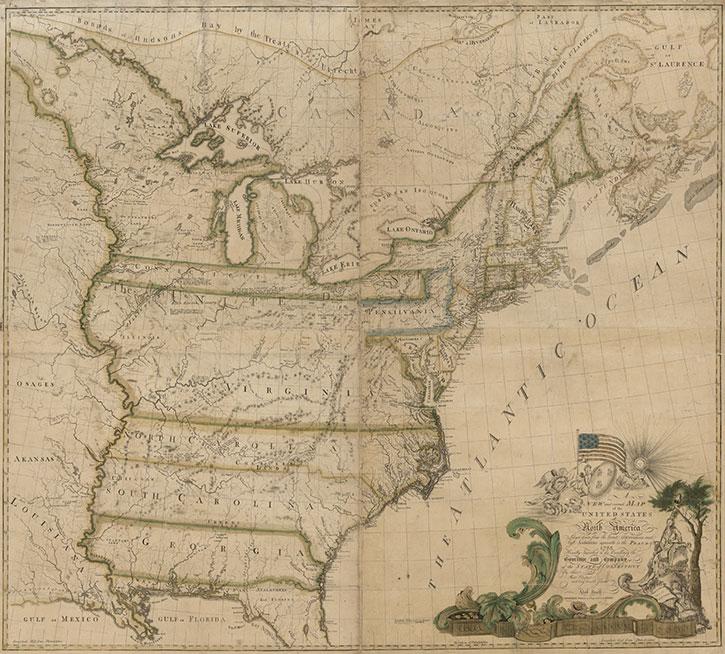 Abel Buell USA 1784