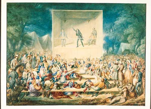 1839 Methodist Camp Meeting