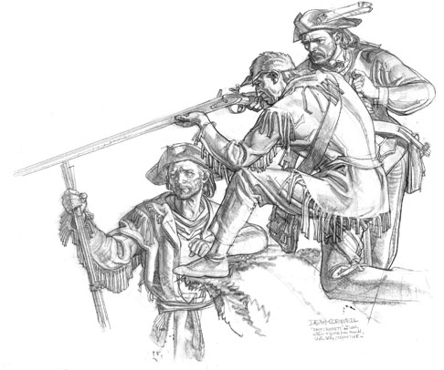 Davy Crockett Coloring Activity Coloring Pages