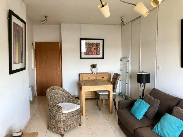 Studio meubl 28 m avec parking en sous sol  louer Valenciennes