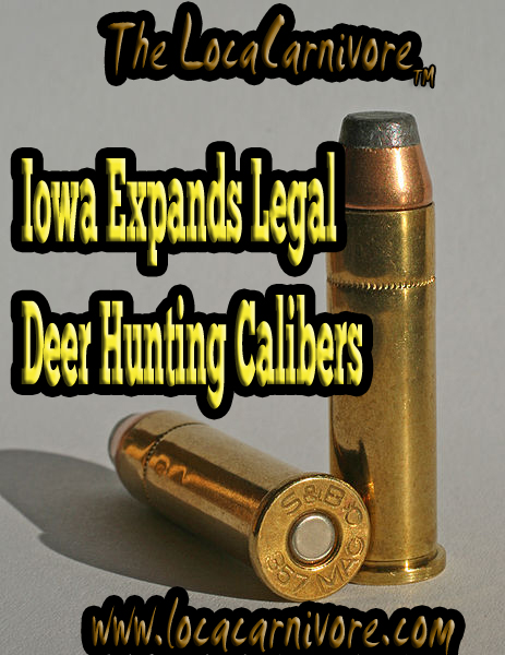 Iowa Expands Legal Deer Hunting Calibers