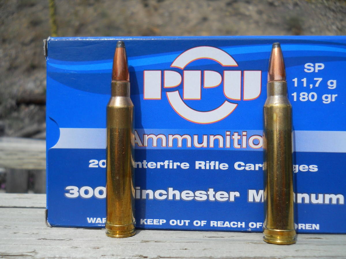 LocaCarnivore Test and Review: PPU .300 Winchester Magnum 180 Grain Soft-Point