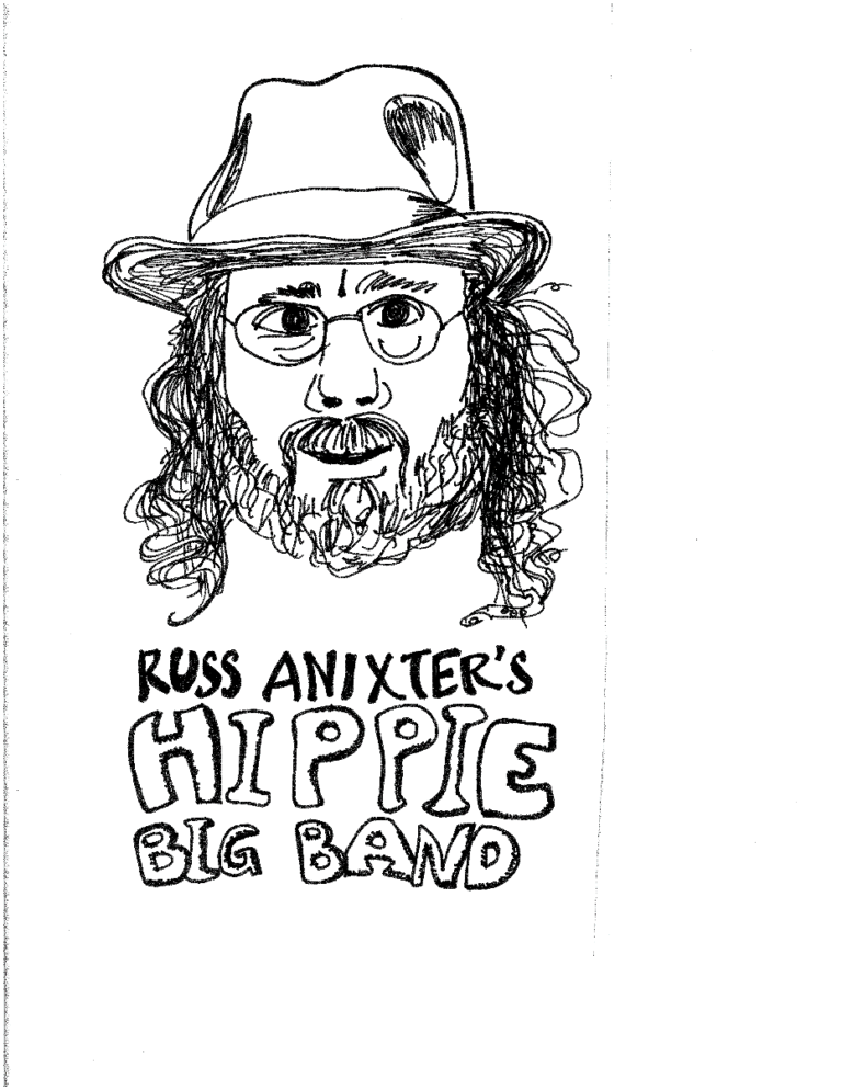 Jazz in the Afternoon: Russ Anixter's Hippie Big Band