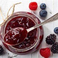 Local'Aude confiture 3 fruits rouges trésors de campagne