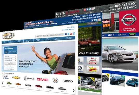 Local car dealerships