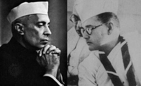 नेहरू और सुभाष चंद्र बोस