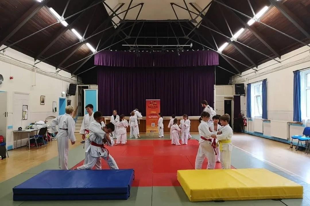Martial arts classes in London