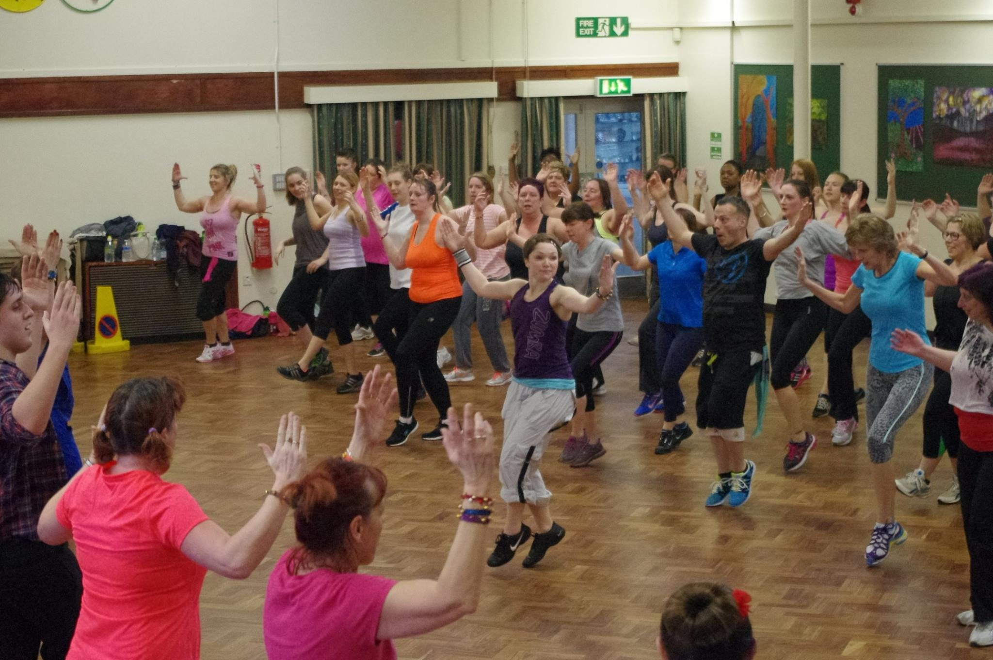 Zumba fitness in Aldershot