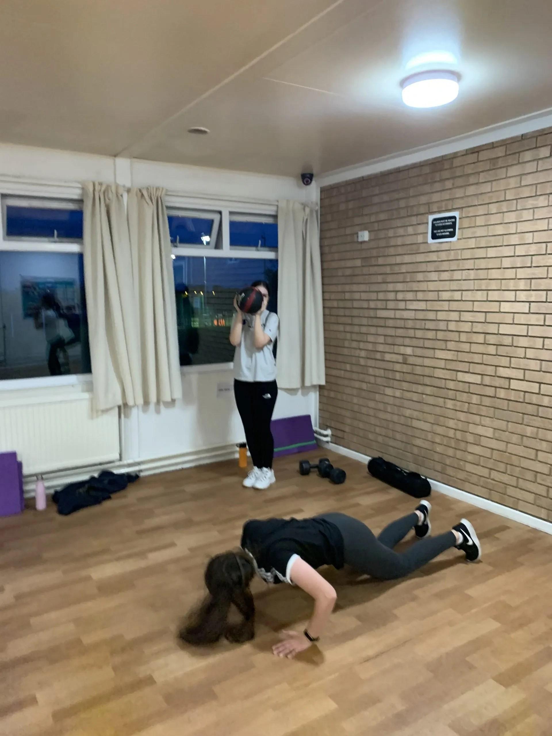 Personal trainer class in Leeds