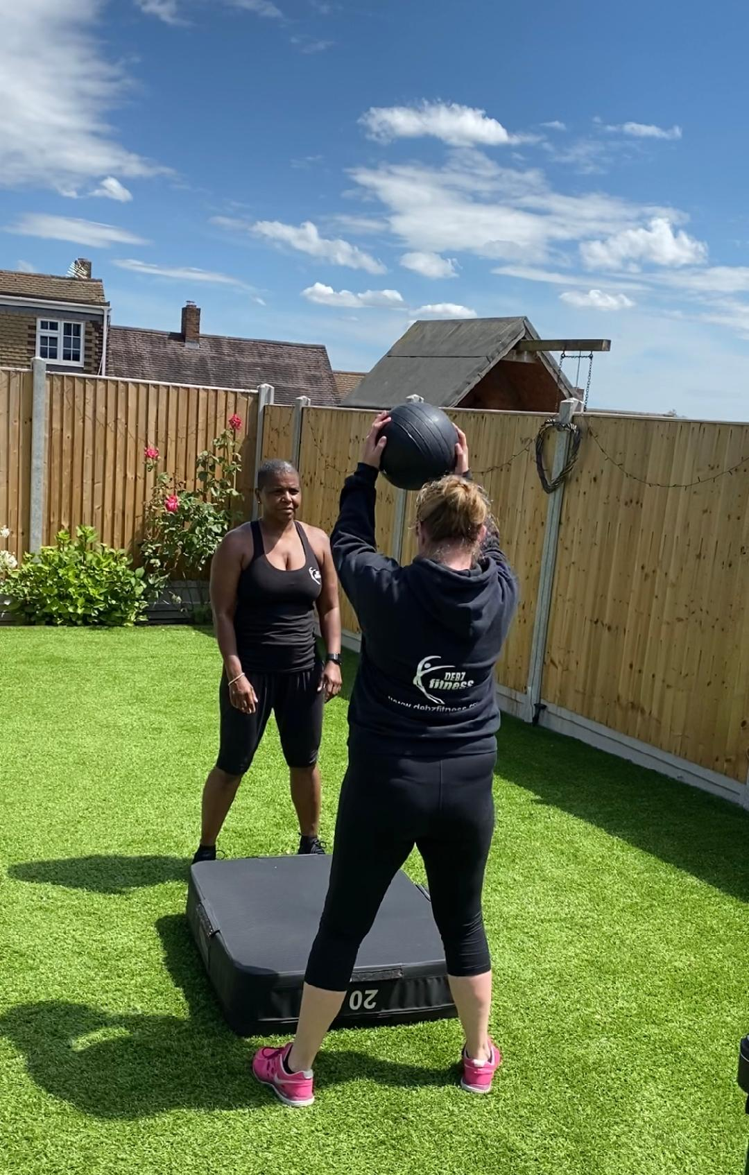 Personal training session in Essex
