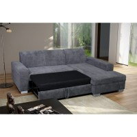Grey Corner Sofa Bed. Great Mike Corner Sofa Bed Fabric ...