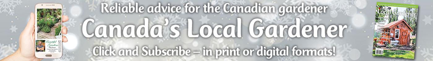 Gardening magazine in Canada