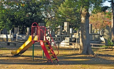 Play among the tombstones